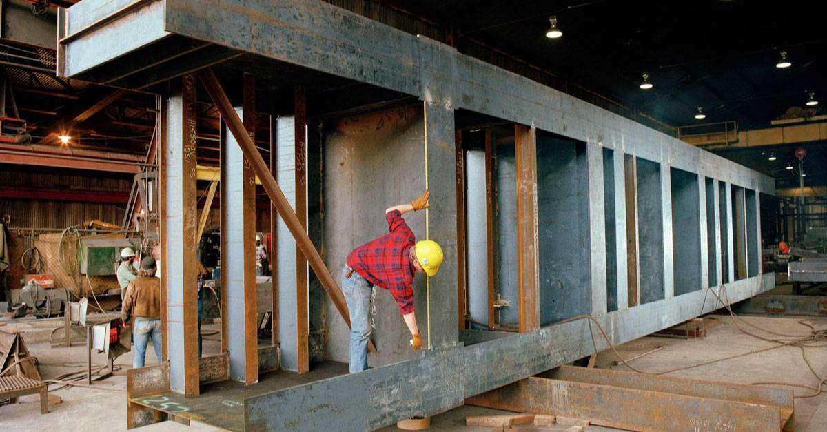 Structural Steel Fabrication in UAE